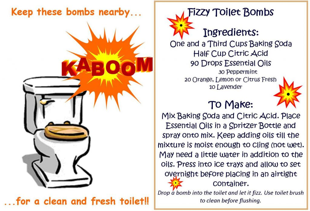 MYO Fizzy Toilet Bombs